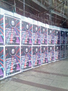 pegada de carteles Madrid